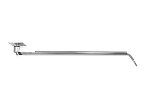 Консоль поворотная прямая 1750 мм (нержавеющая сталь)
