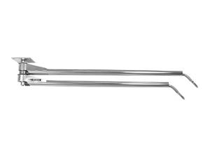 Двойная поворотная потолочная консоль 1600 и 1700 мм